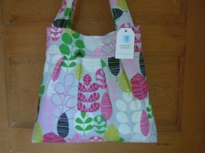 Pleated Tote 1
