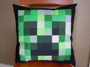 Creeper Pillow 1