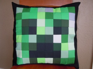 Creeper Pillow 2