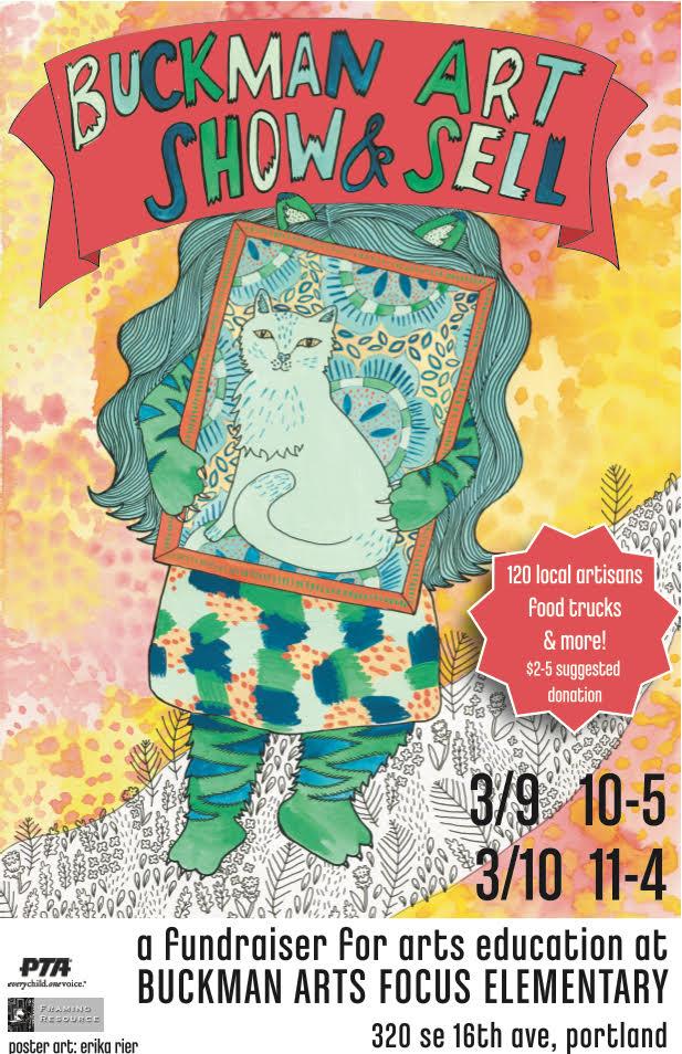 Buckman Art Show + Sell